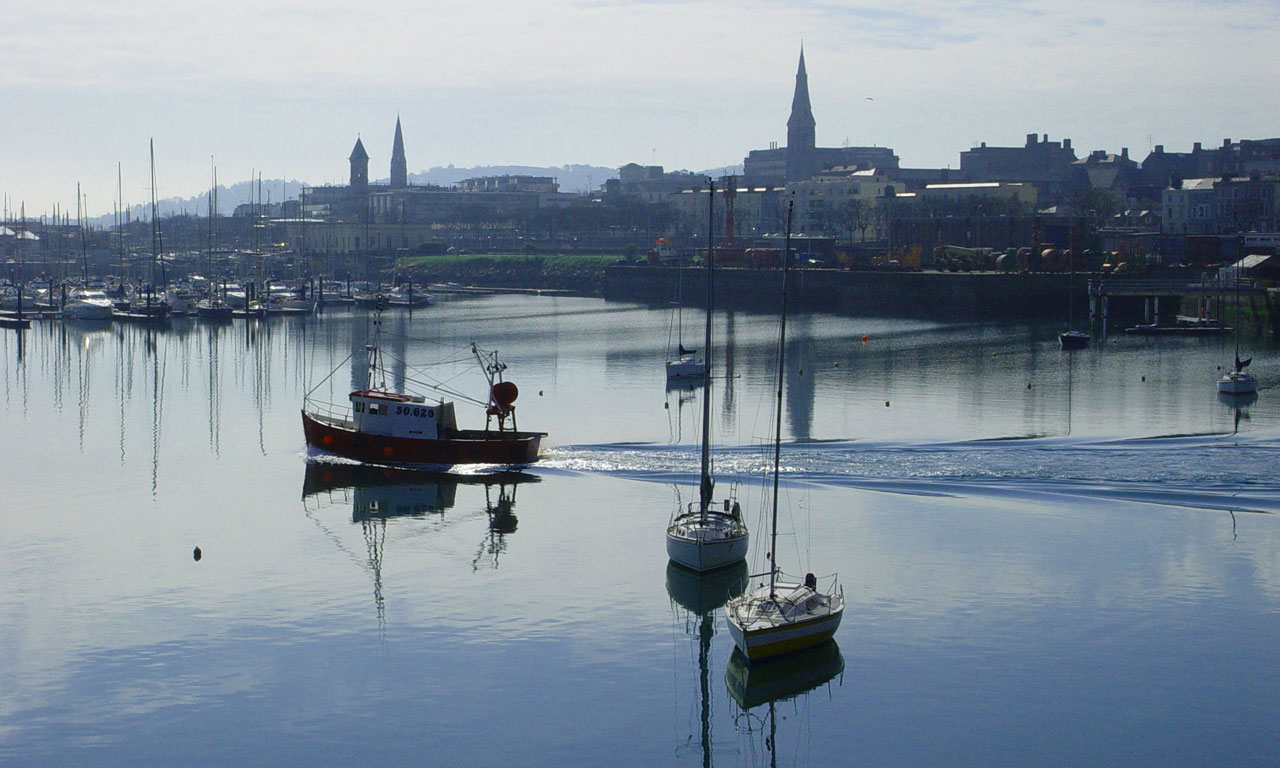 Dun Laoghaire Harbour, Dublin