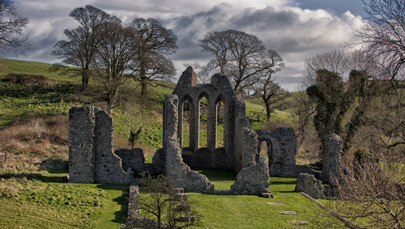 Game of Thrones' The Twins (Inch Abbey, County Down)