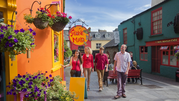 Colourful Kinsale in County Cork