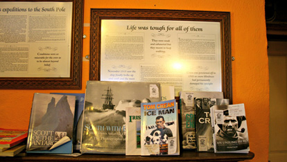 Memories inside the South Pole Inn provided by &lt;a href=&quot;http://www.flickr.com/photos/yotababy/&quot; >Yotababy&lt;/a> 