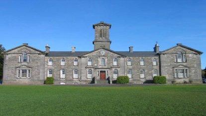 Niall's old school Coláiste Mhuire Mullingar, County Westmeath