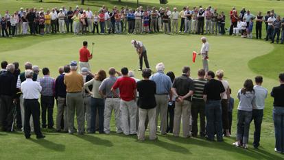 Mullingar Golf Club, where Niall played a round last summer