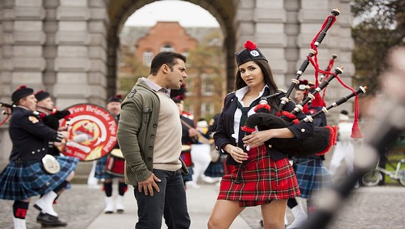 Bollywood superstars Salman Khan and Katrina Kaif in 'Ek Tha Tiger'
