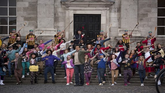 Dance scene in 'Ek Tha Tiger'