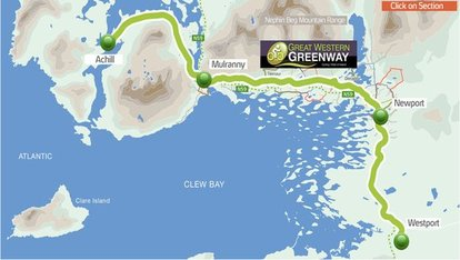 Great Western Greenways route
