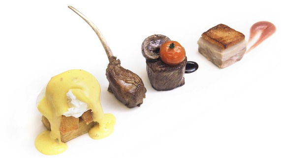 "Noel McMeel's 'Grill' featuring Black Bacon fornito da <a href=""http://www.lougherneresort.com/"" >Lough Erne Resort</a>"