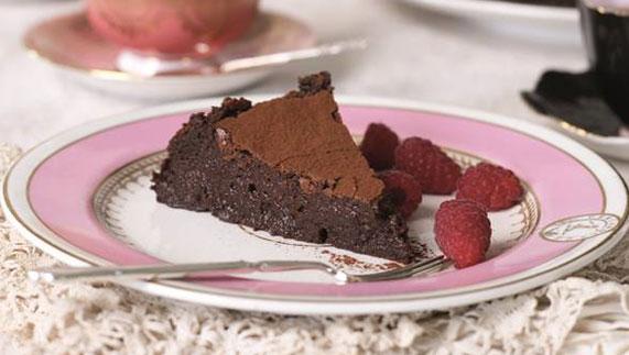 Avoca's Chocolate Cake with Orange Zest