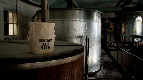 Inside the Hilden Brewery, County Antrim
