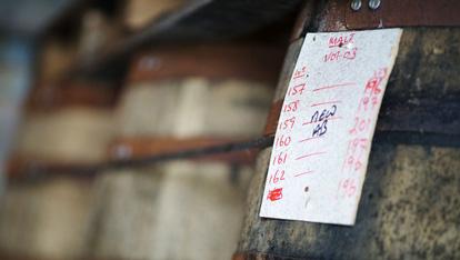 A Kilbeggan cask
