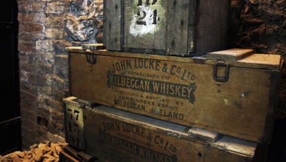 A Kilbeggan Whiskey Box