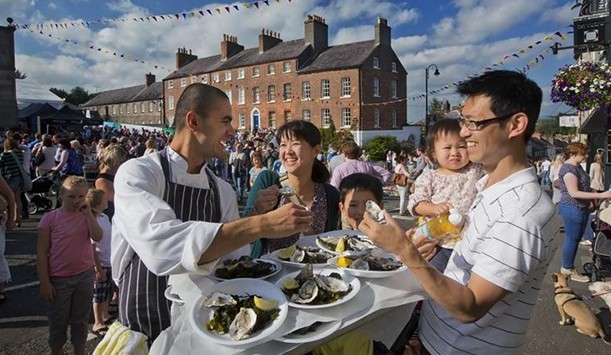 The Hillsborough International Oyster Festival