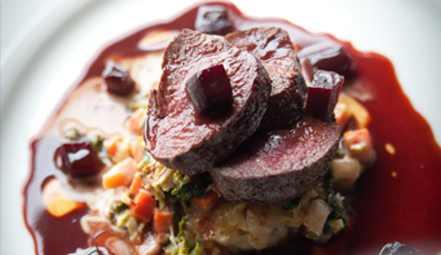 6. Beef and venison
