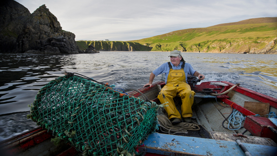 Fisherman in County Donegal