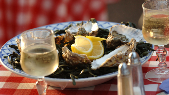 Oysters in Kinsale, County Cork