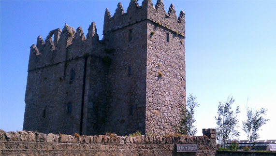 Bulloch Castle, Dalkey, County Dublin, formerly owned Princess Charlene's Irish ancestors