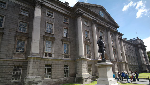 Princess Charlene's ancestors were instrumental in the foundation of Ireland's oldest university, Trinity College Dublin.