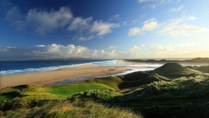"Tralee Golf Course, County Kerry  provided by <a href=""http://www.amazon.com/Golf-Courses-Great-Britain-Ireland/dp/0847835723"" >David Cannon</a>"