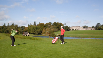 Carton House, the host of the Irish Open 2013