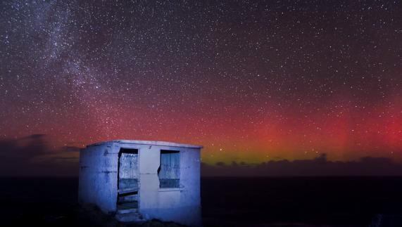 Aurora Boreale 16 febbraio 2015 Malin Head Donegal