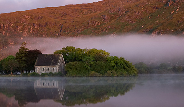"Gougane Barra, County Cork fornito da <a href=""http://www.petercox.ie/"" >Peter Cox</a>"