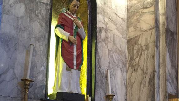 St Valentine In Whitefriar Church