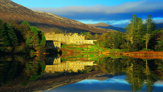 Ballynahinch Castle Hotel, Connemara, County Galway