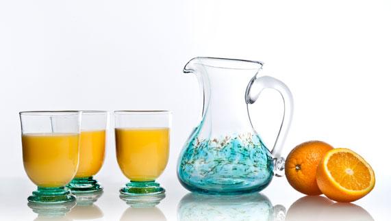 Jerpoint hand-blown glass