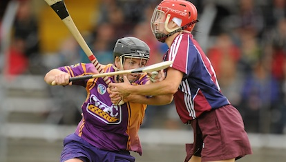 Camogie in action