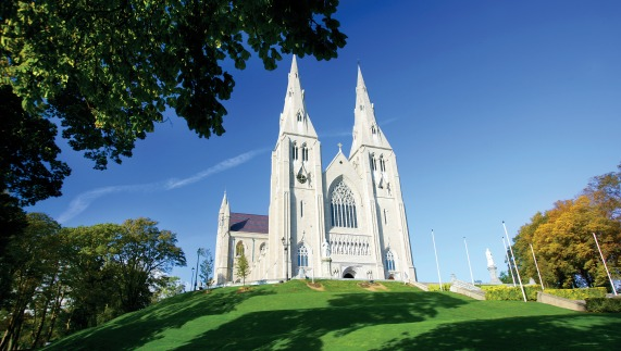 St Patrick's Cathedral in Armagh city