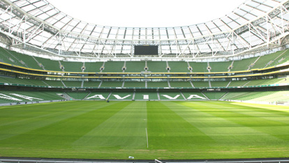 "Pitch at the Aviva Stadium provided by <a href=""http://www.avivastadium.ie/"" >Aviva</a>"
