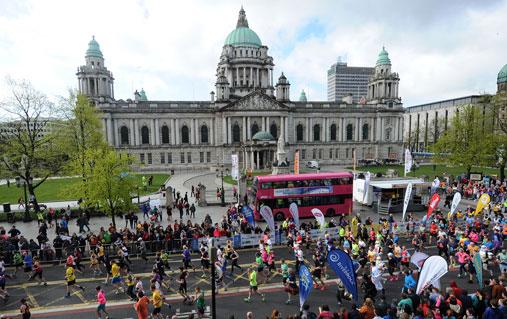 Maratón de la ciudad de Belfast