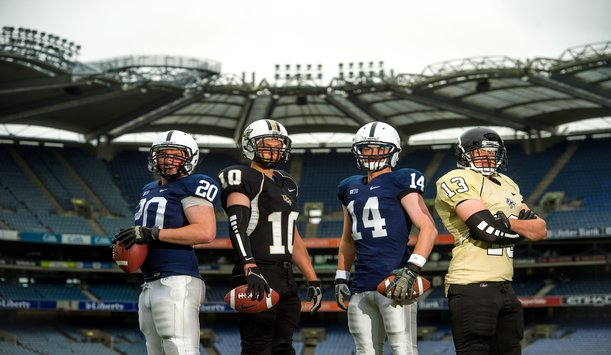 Penn State and University of Central Florida clash in Croke Park Classic