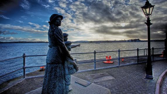 Titanic Pier, Cobh, County Cork