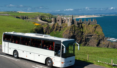 Getting around Ireland by coach and train
