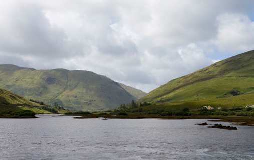 Killary Fjord, Connemara, County Galway