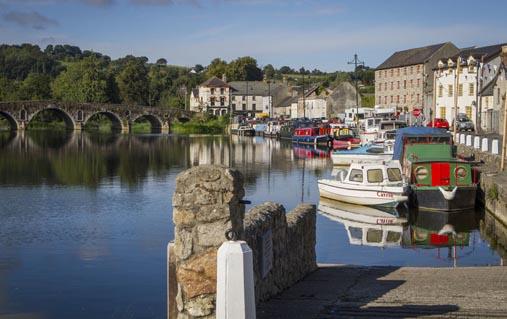 Graiguenamanagh on the River Barrow