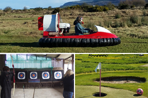 Hovercraft Flying Archery  Football Golf for 2 people for 105 at Foylehov Activity Centre