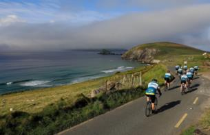 960km of cycling Ride the full Wild Atlantic Way with a support team and hotel stays from 1799