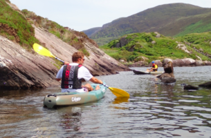 2 hour Kayak on Lough Currane 40 per adult