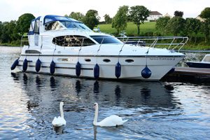 Cruise Irelands waterways for 4 nights on-board a 68 berth Cruiser