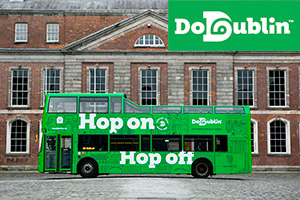 48Hour DoDublin Hop on Hop off Tour  SAVE 20