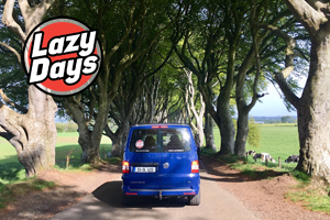 Discover the Causeway Coastal Route in a Lazy Days VW Camper from 360 for 3 nights