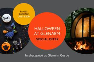 Halloween at Glenarm Castle   Special POD Offer 200 1 night stay and halloween party pack