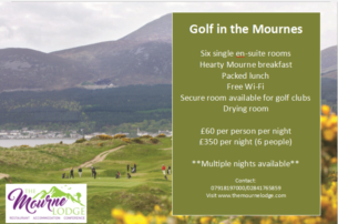 Golf in The Mournes