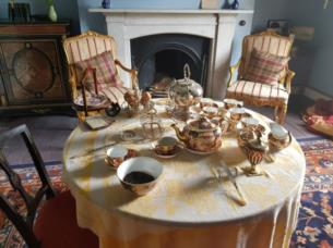 Afternoon Tea in Dining Room at Milford House