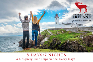 Discover the Irish way of life on this 8 day journey across the north of Ireland