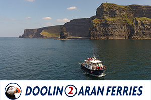 15 Off Cliffs of Moher Cruise on the Wild Atlantic Way