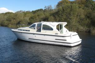 7 night cruising holiday on the River Shannon