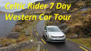 7 Day Western Ireland Car Tour for 2 People