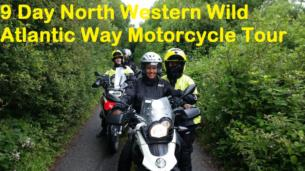 14 Day Wild Atlantic Way Motorbike tour for two people